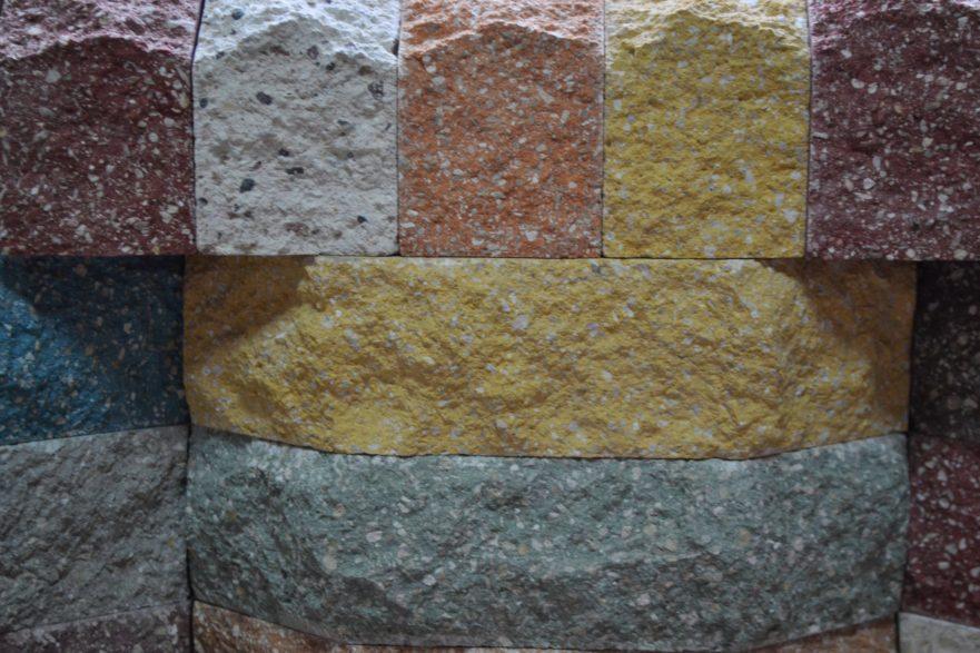 Разнообразие цветов, фактур и форм гиперпрессованного кирпича